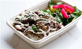Zatar Beef Shawarma Plate