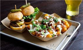 Sliders and Tots from Easy Slider