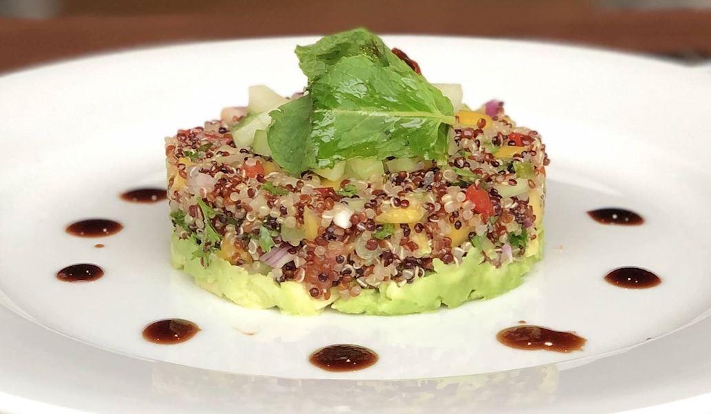 Healthy quinoa salad in Grapevine