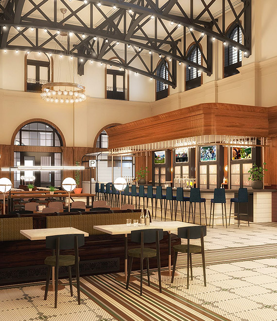 A North Dallas Food Hall and Entertainment Destination