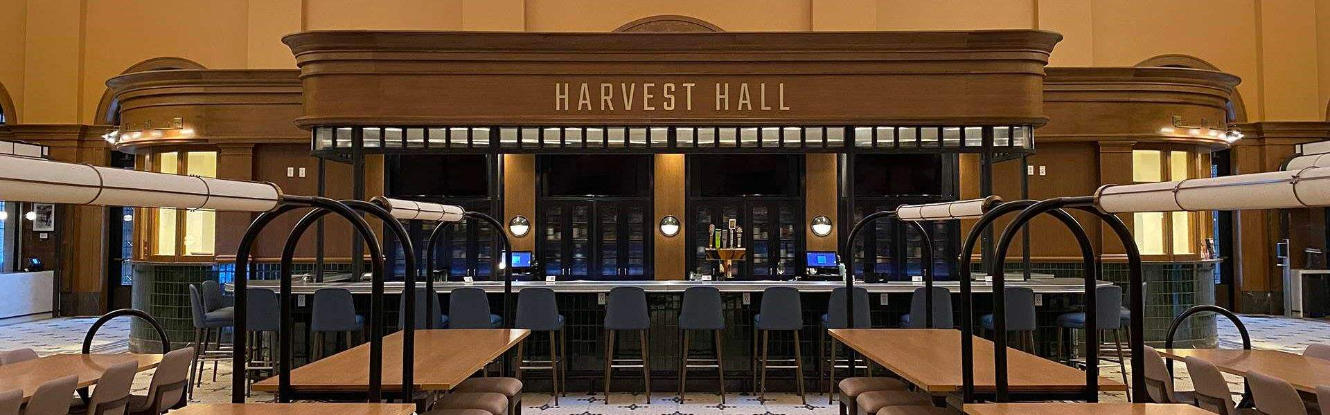 Drink Harvest Hall in Texas